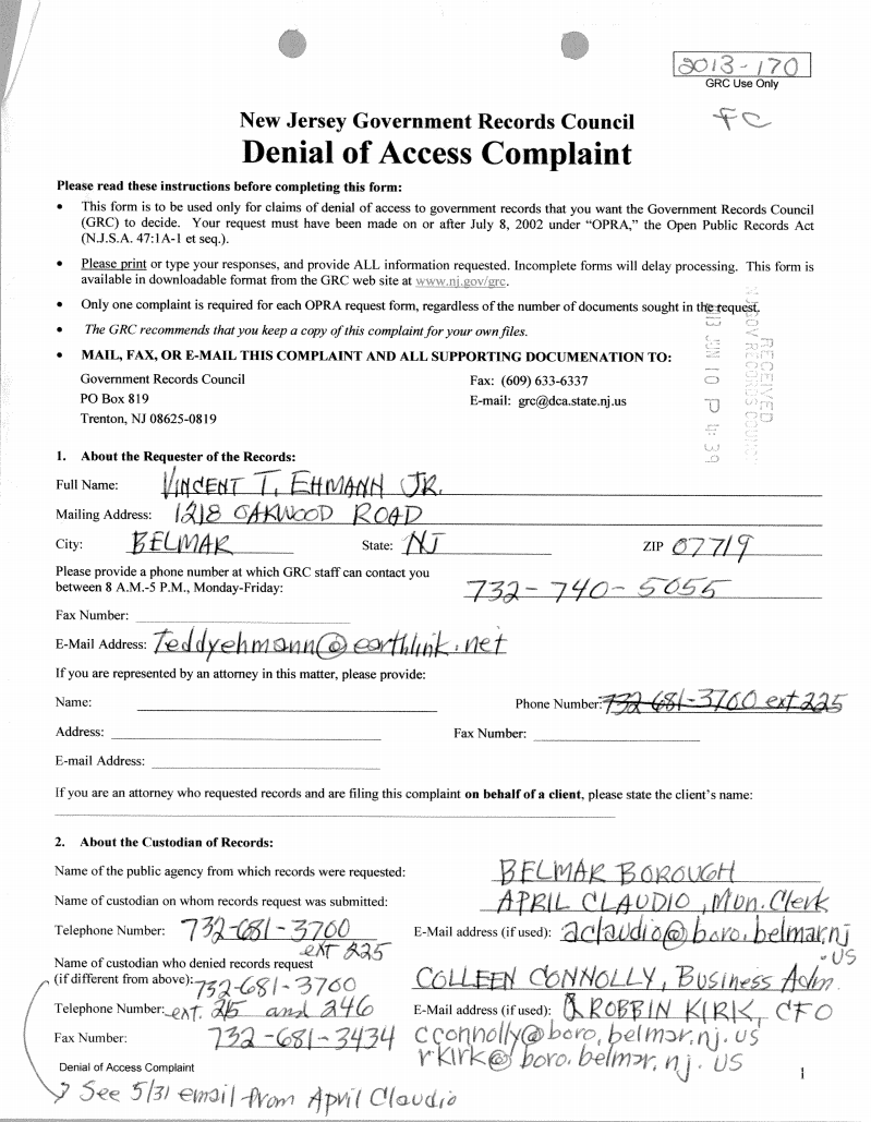 Denial Complaint1