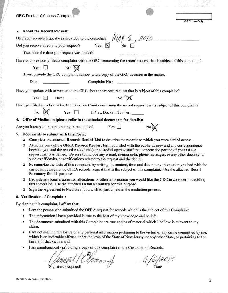 Denial complaint2