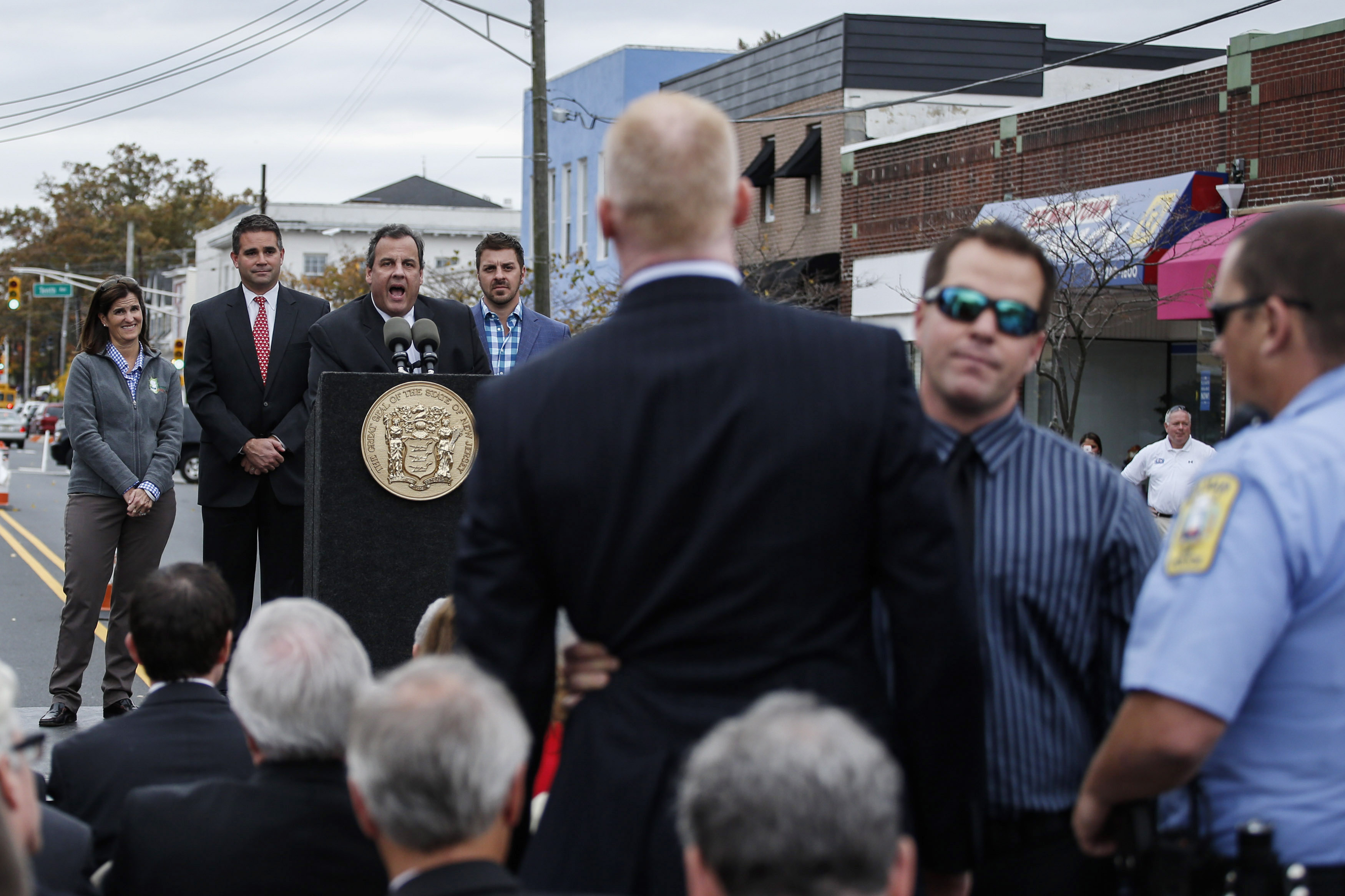 Gov. Chris Christie Marks Second Anniversary Of Hurricane Sandy
