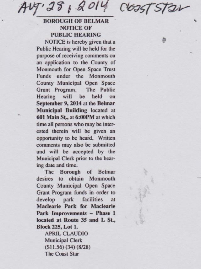 Sept 2014 notice