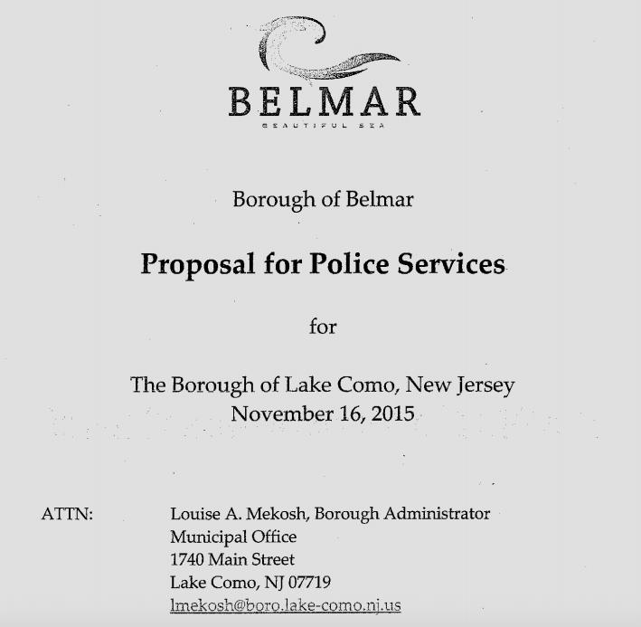 Common sense for belmar busy week for Common sense for belmar