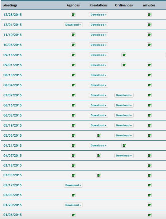 agenda page 2015