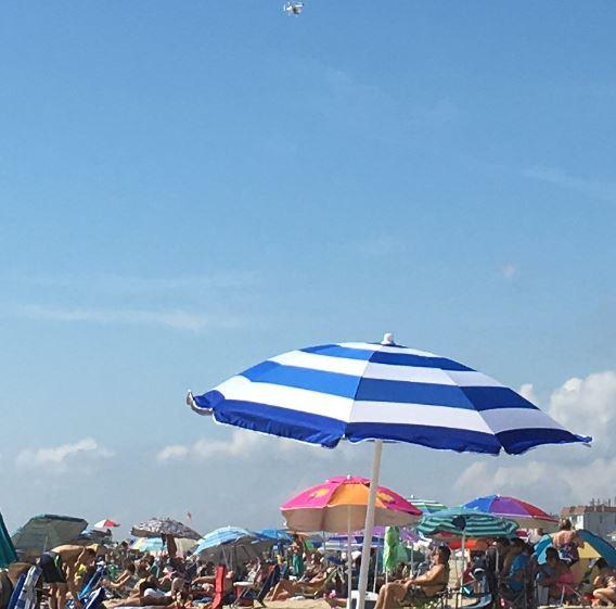 Belmar beach drone 8-21-16