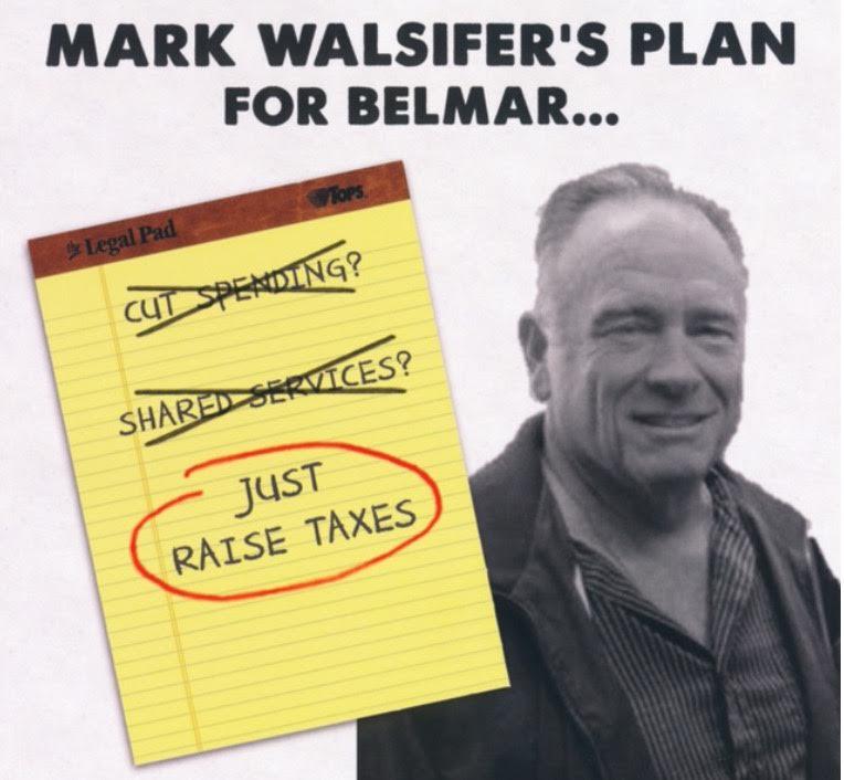 Common sense for belmar welcome to belmar politics mark for Common sense for belmar