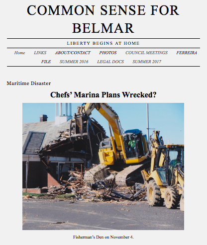 Common sense for belmar liberty begins at home for Common sense for belmar