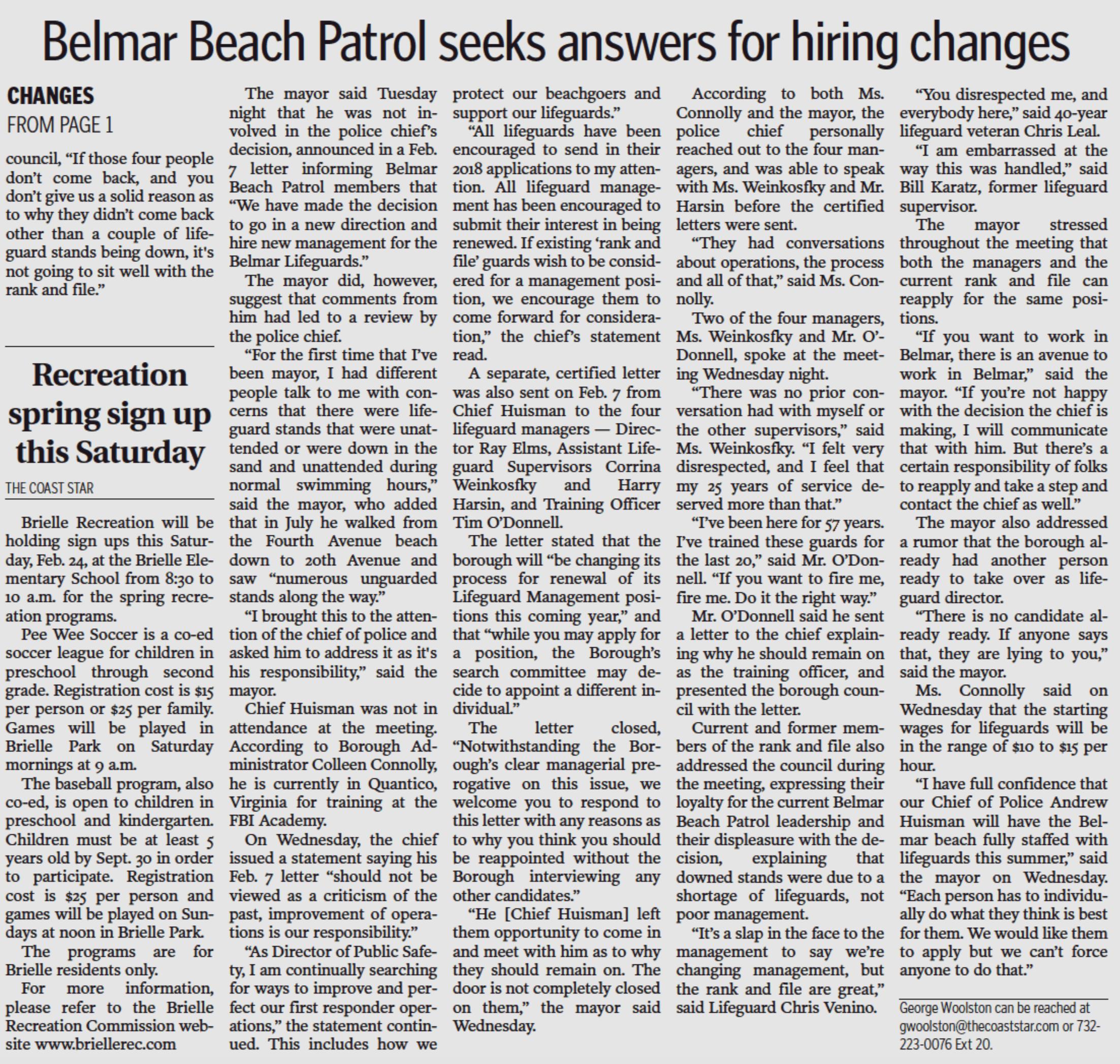 Common Sense For Belmar Nice Detailed Report